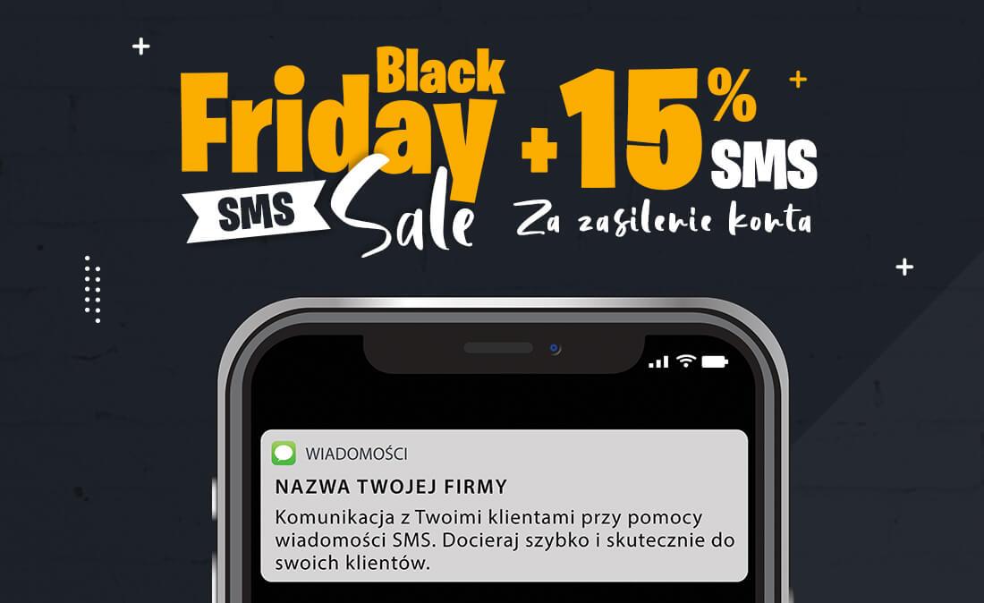 Black Friday 2020 - wysyłka wiadomości SMS